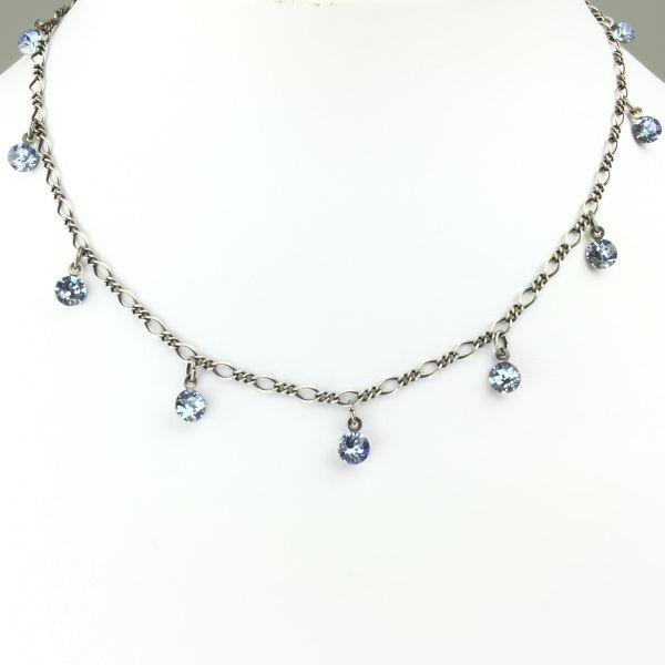 Konplott Tutui light sapphire Halskette steinbesetzt, hellblau #5450527274371