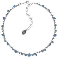 Konplott Jelly Star steinbesetzte Halskette in hellblau - Gebraucht wie neu