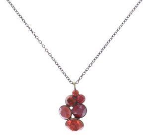 Konplott Petit Glamour Halskette mit Anhänger in coralline #5450543726854