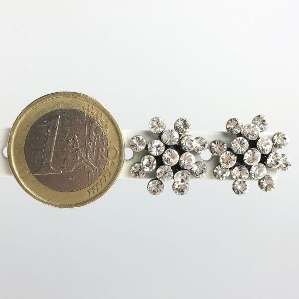 Konplott Magic Fireball white crystal Ohrstecker klassisch mini #5450543656304