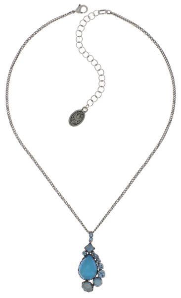 Konplott Jelly Star Halskette mit Anhänger in hellblau #5450543714103