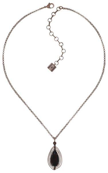 Konplott Amazonia Halskette mit Anhänger in braun, Größe S #5450543760735