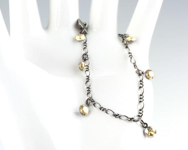 Konplott Tutui crystal golden shadow Armband verschließbar #5450527641128