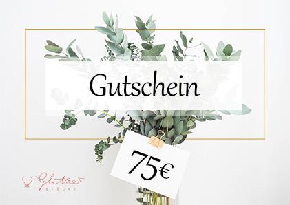 75€ Gutschein bei Glitzerstücke deinem Konplott Shop