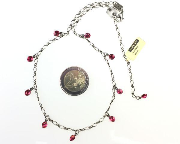Konplott Tutui indian pink Halskette steinbesetzt, pink/rot #5450527641272