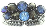 Konplott Water Cascade Ring in blau/braun