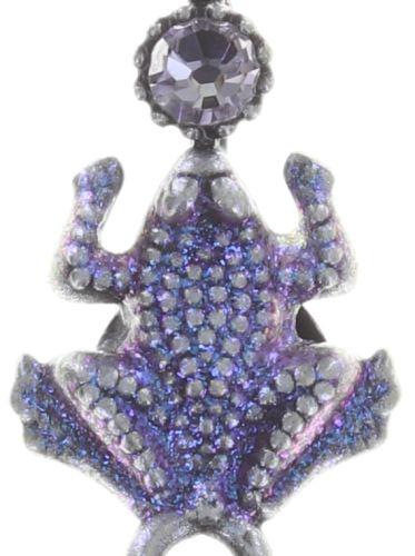 Konplott Little Frog Prince Halskette mit Anhänger in blau/pink #5450543707822