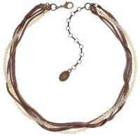 Konplott Chameleon Halskette in weiß