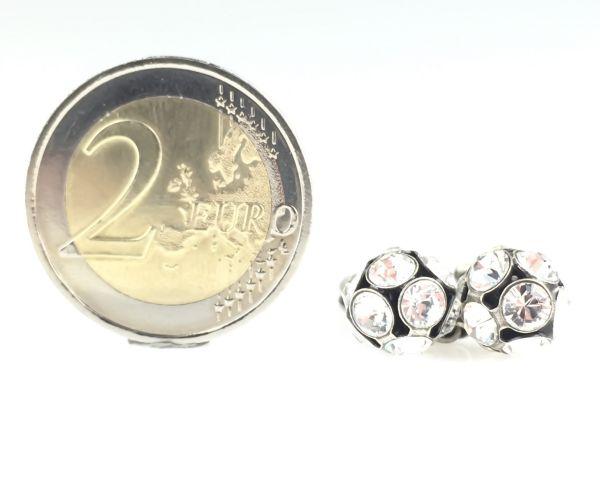 Konplott Disco Balls crystal Ring mit 2 Kugeln #5450527597029