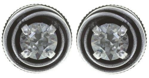 Konplott Cages Ohrring in grau Silberfarben #5450527749497
