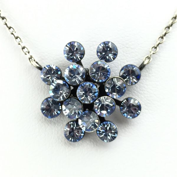 Konplott Magic Fireball Halskette mit Anhänger in light sapphire, hellblau #5450527612012