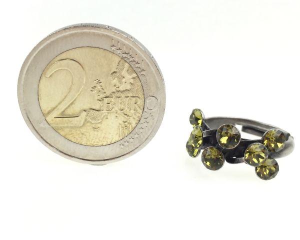 Konplott Magic Fireball 8 Stein Ring in khaki #5450527640329
