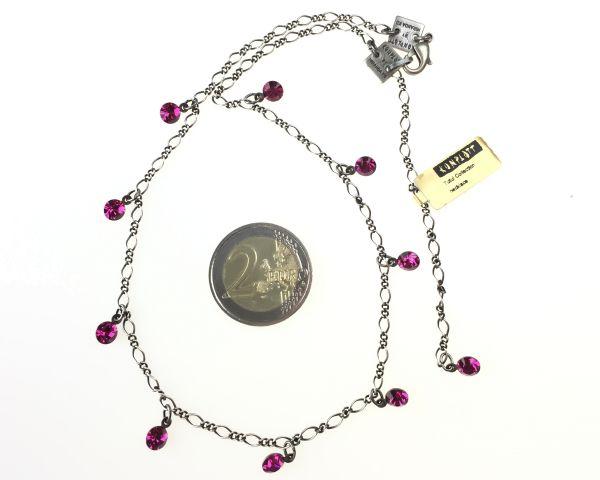 Konplott Tutui fuchsia Halskette steinbesetzt, pink #5450527591621