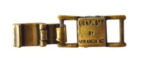Konplott Armband Verlängerung groß in Messing #5450527800457