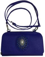 Plain is Beautiful Wallet Bag blau