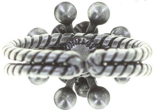 Konplott Magic Fireball Ring Mini in weiß/grau opal #5450543727523