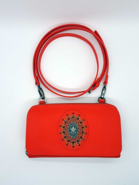 Konplott Plain is Beautiful Wallet Bag orange #5450543544335