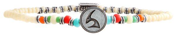 Konplott Zodiac multi Armband elastisch (Steinbock) #5450543647739