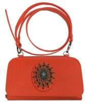 Plain is Beautiful Wallet Bag orange