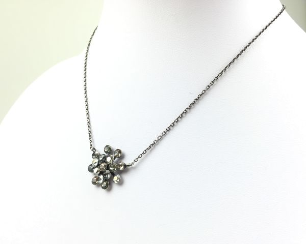 Konplott Magic Fireball graue Halskette mit Anhänger #5450543239354