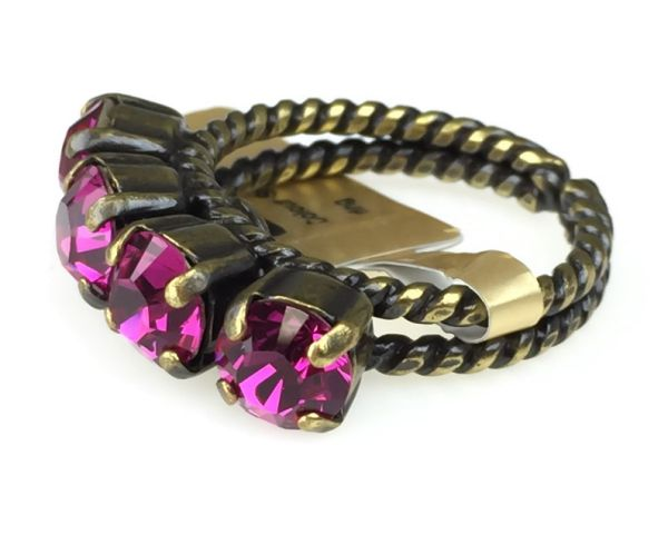 Konplott Colour Snake Ring in fuchsia, pink #5450527257084