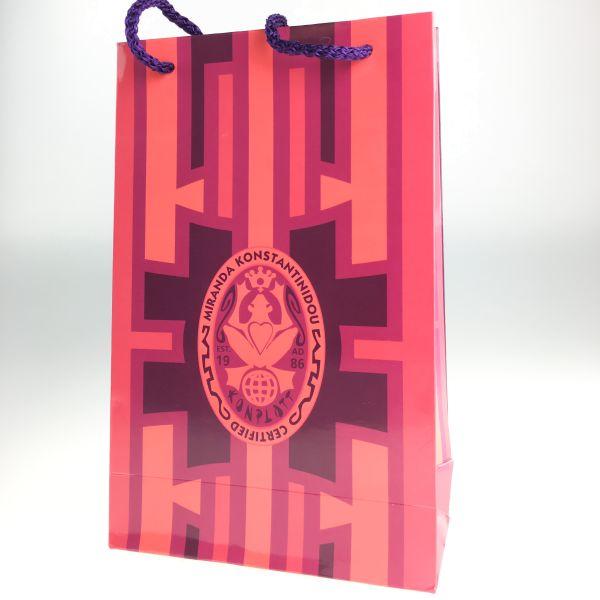 Konplott Bag in Rot/Violett #RotViolettRechtecke