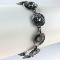 Konplott Rivoli Concave black diamond Armband verschließbar #5450543616520