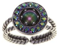 Simply Beautiful Ring in grün