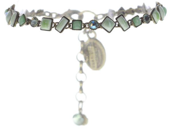 Konplott Jumping Baguette Armband grün #5450543660448