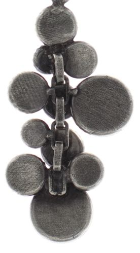 Konplott Water Cascade Halskette mit Anhänger in weiß antik silber #5450543686158
