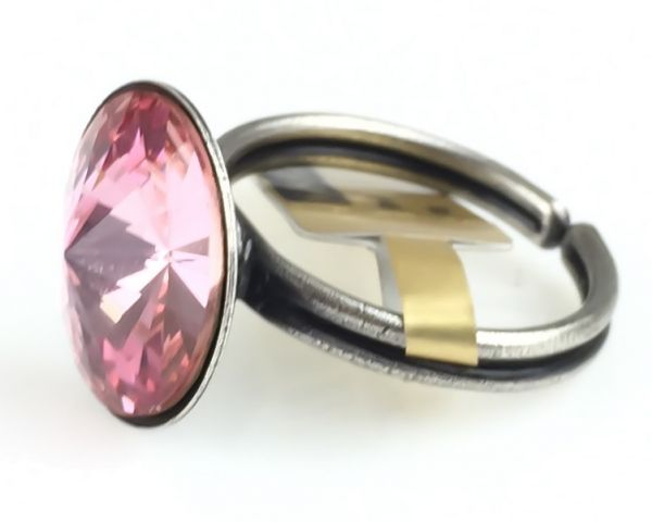 Konplott Rivoli light rose Ring #5450527640886