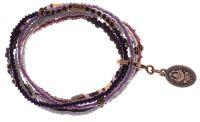 Petit Glamour d'Afrique Armband in lila