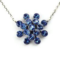Konplott Magic Fireball Halskette mit Anhänger in sapphire