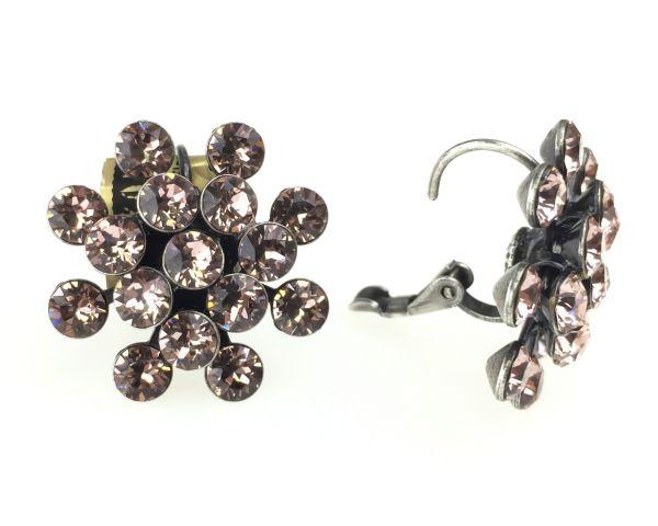 Konplott Magic Fireball Ohrhänger mit Klappverschluss in vintage rose #5450527611954