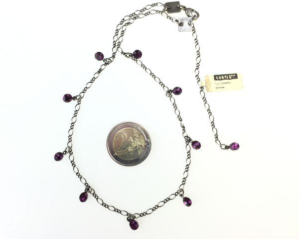 Konplott Tutui amethyst Halskette steinbesetzt, pink/lila #5450527641210