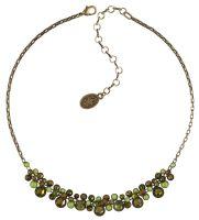 Konplott Water Cascade steinbesetzte Halskette in grün