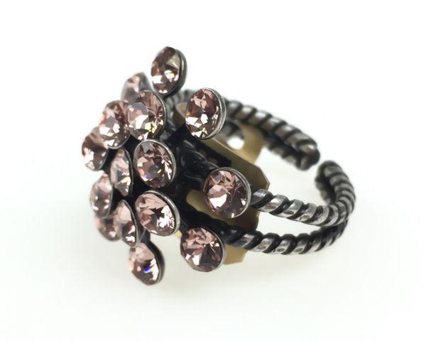 Konplott Magic Fireball 16 Stein Ring in vintage rose #5450527611961