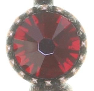 Konplott Amazonia lange Halskette mit Anhänger in rot, Größe M #5450543752815