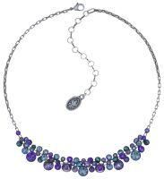 Konplott Water Cascade steinbesetzte Halskette in lila