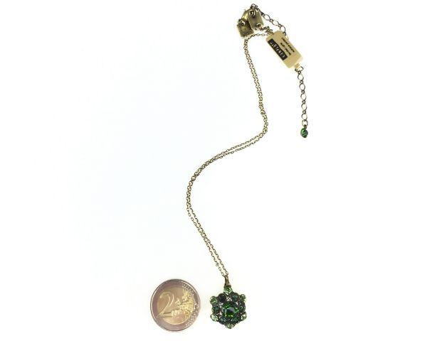 Konplott Bended Lights Halskette mit Anhänger in Grün #5450527758918