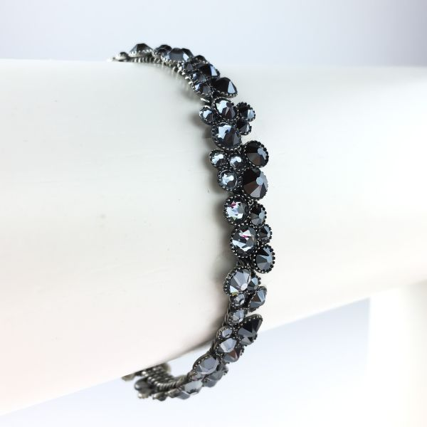 Konplott Inside Out schwarzes Armband verschließbar #5450543610221