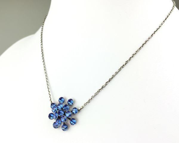 Konplott Magic Fireball Halskette mit Anhänger in sapphire #5450527611695