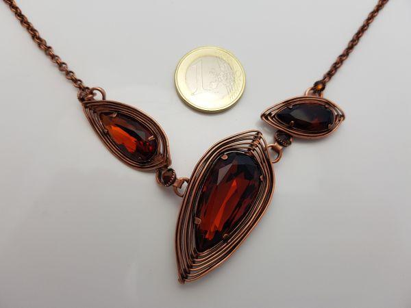 Konplott Amazonia Halskette in braun #5450543752525