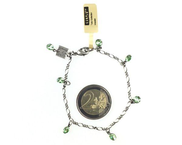Konplott Tutui peridot Armband verschließbar, grün #5450527641142