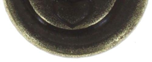 Konplott Black Jack Ohrstecker in braun - colorado topaz shimmer #5450543649641