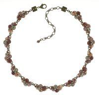 Konplott Petit Glamour steinbesetzte Halskette in beige