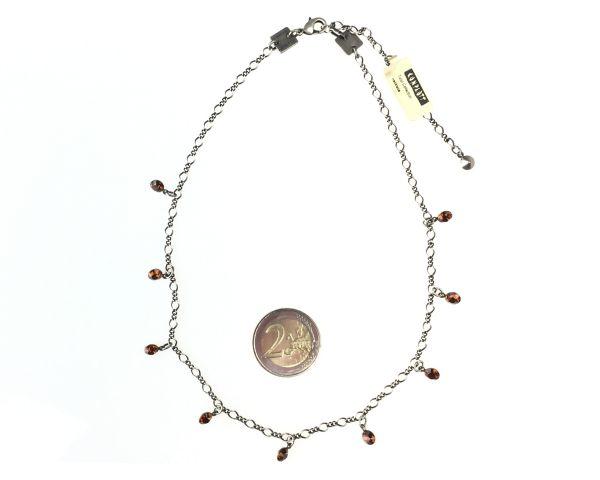 Konplott Tutui smoked topaz Halskette steinbesetzt, braun #5450527641098
