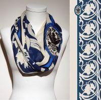 Konplott Schal Floral 11 in blau