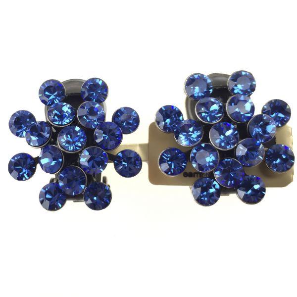 Konplott Magic Fireball Ohrclip in sapphire #5450527611701