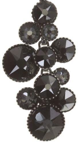 Konplott Water Cascade Halskette mit Anhänger in schwarz antik silber #5450543686066